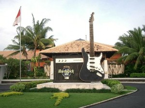 Hard Rock Cafe in Bali